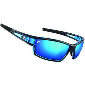 Tifosi Escalate SF Glasses Herren crystal blue - clarion blue/ac red/clear
